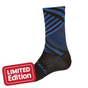 Endura Oblixe Graphic Sock : Blue