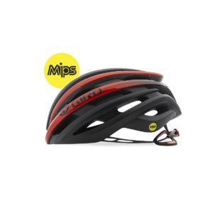 Giro Cinder Mips : Matt Black/Bright Red