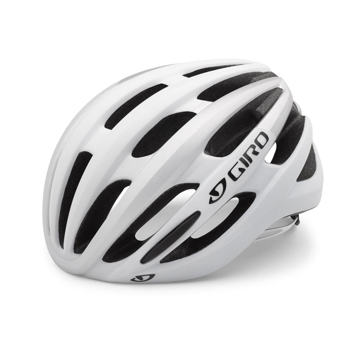 Giro Foray Helmet : Matt White/Silver