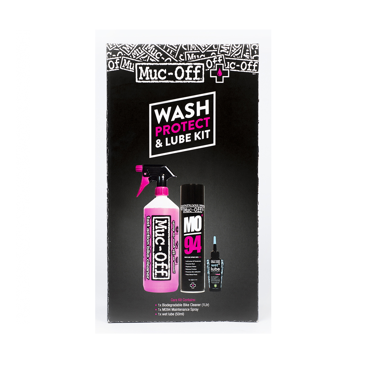 Muc off Cleaning Kit : Wash Protect Lube