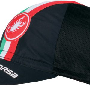 Castelli Performance Cycling Cap : Black