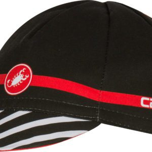 Castelli Free Cycling Cap : Black/Red
