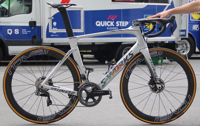 99501d81498 BIKES OF THE PRO PELOTON: Marcel Kittel's Specialized Venge ViAS Disc