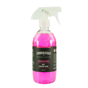 Crankalicious Carboniferous 500ml Matt Finish Spray