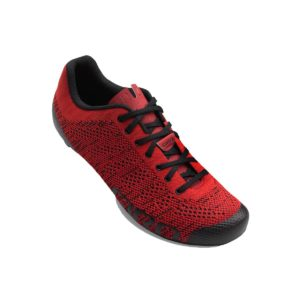 Giro Empire E70 Knit Road Shoes : Bright Red