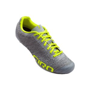 Giro Empire E70 Knit Road Shoes : Grey Heather