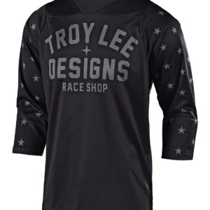 Troy Lee Ruckus Jersey : Star Black/Grey