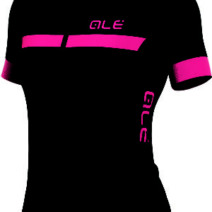 Ale Solid Riviera Short Sleeve Womens Jersey