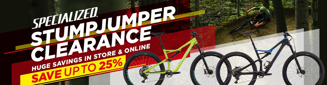 Specialized Stumpjumper Clearance