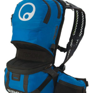 ERGON BE2 ENDURO BLACK/BLUE Large