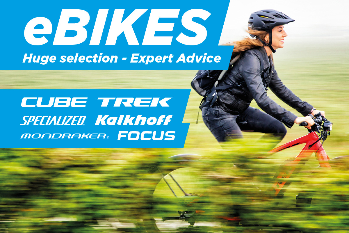 eBikes - Huge Selection