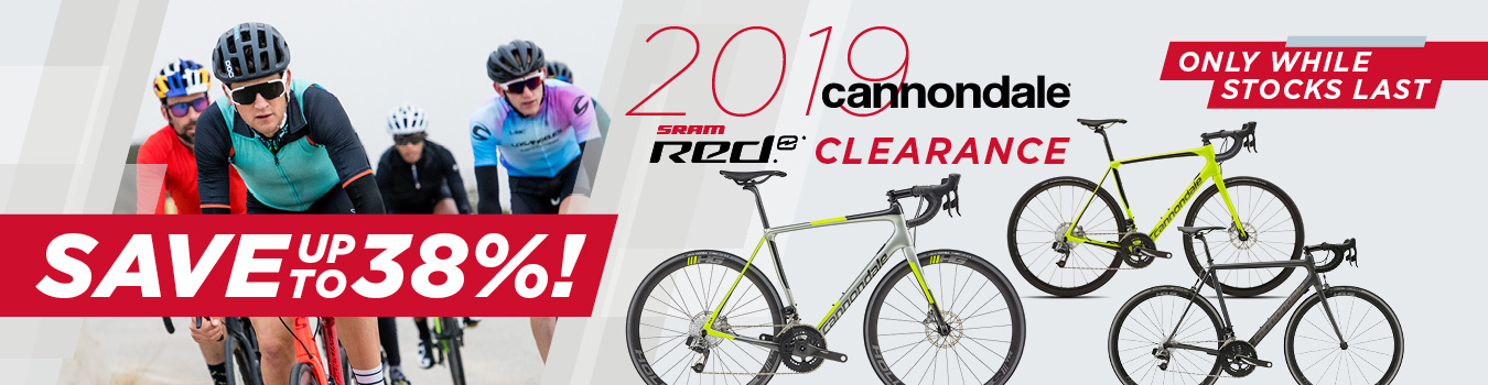 2019 Cannondale eTap clearance