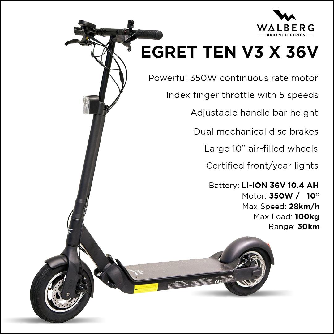 Walberg Egret Ten V3 X 36V