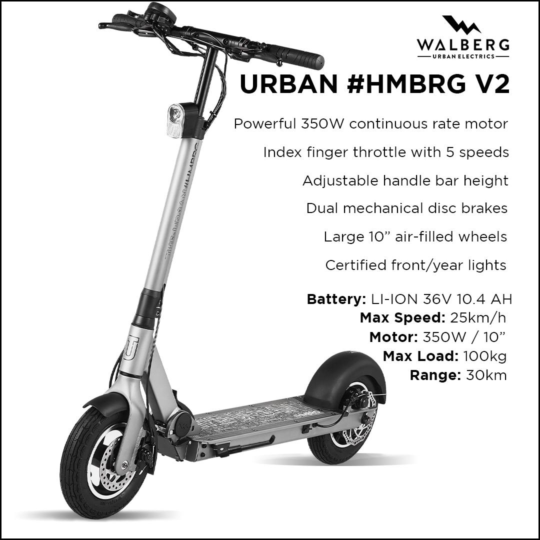 Walberg Urban #HMBRG V2