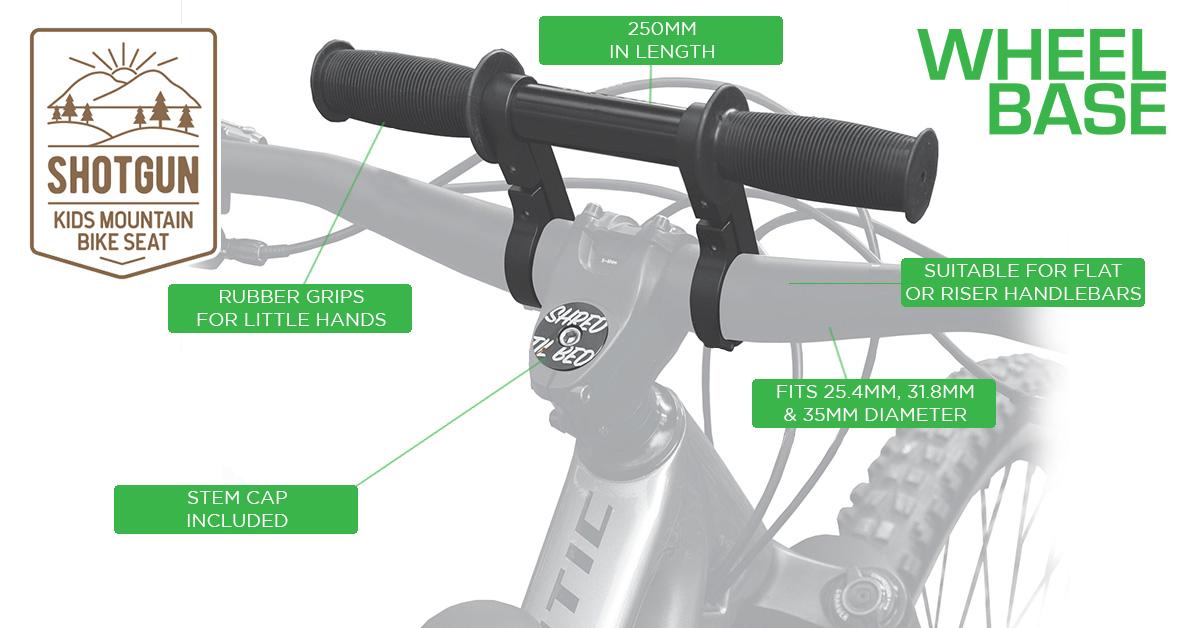 Shotgun Front Mounted MTB Seat Combo