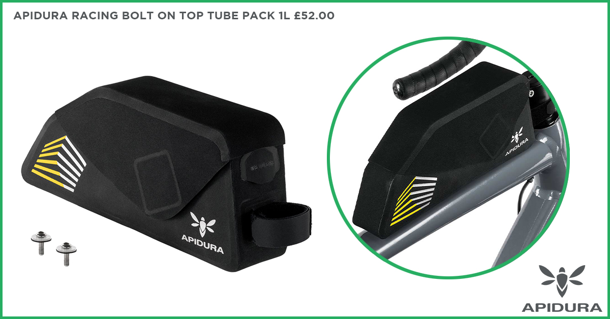 Apidura Racing Bolt On Top Tube Pack 1L