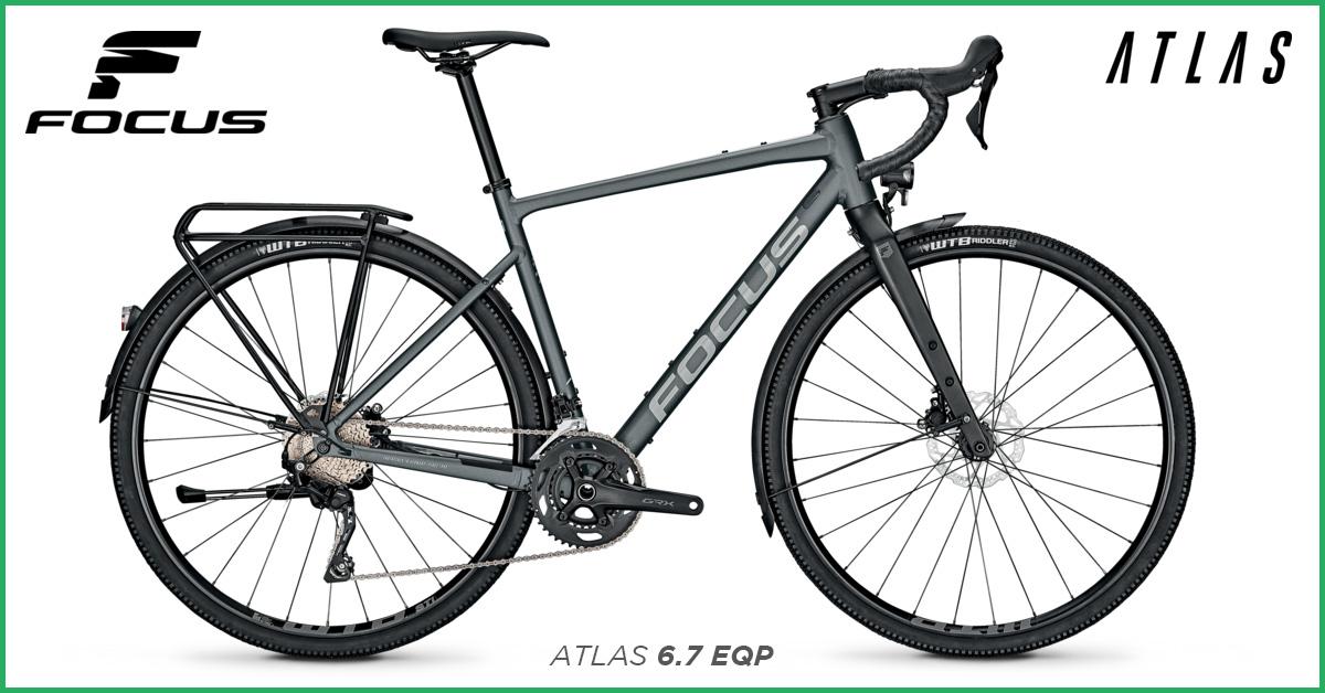 Focus ATLAS 6.7 EQP Gravel Bike