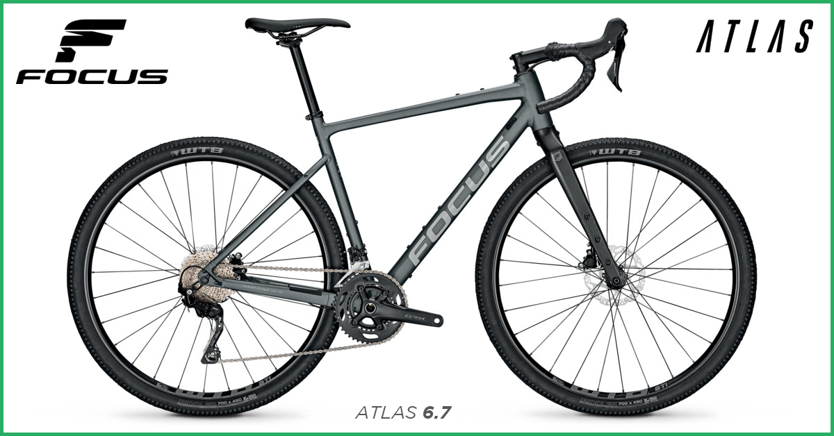 Focus Atlas 6.7 Gravel Bike
