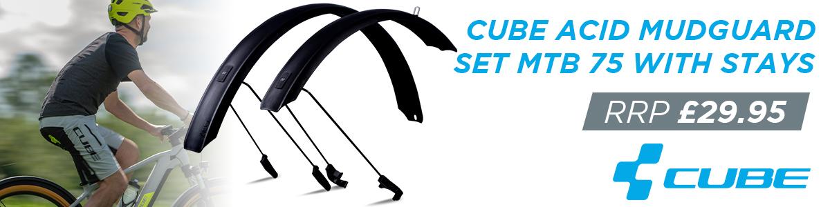 Cube Acid Mudguard Set MTB 75 With Stays