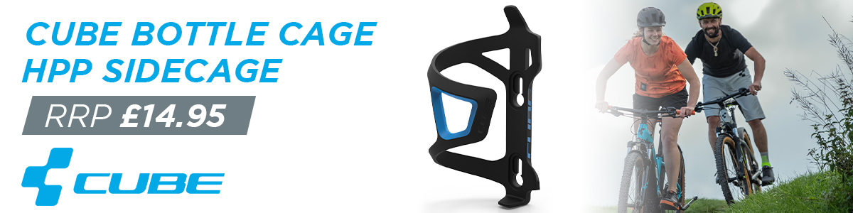 Cube Bottle Cage HPP Sidecage