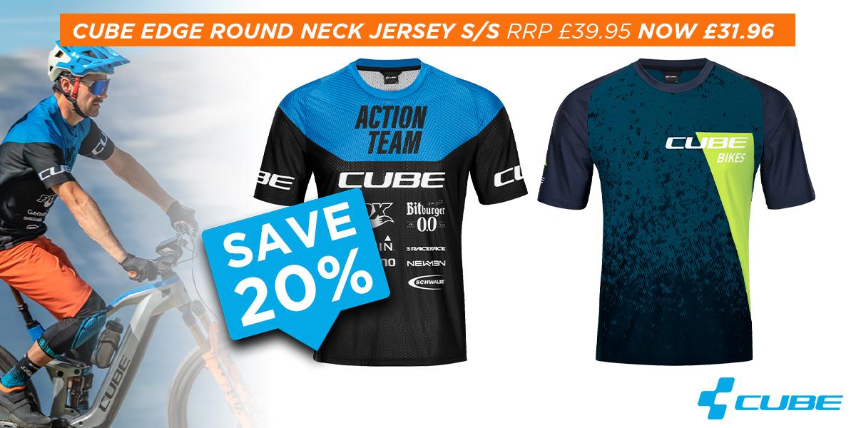 Cube Edge Round Neck Jersey SS