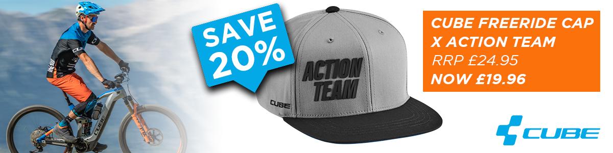 Cube Freeride Cap X Action Team