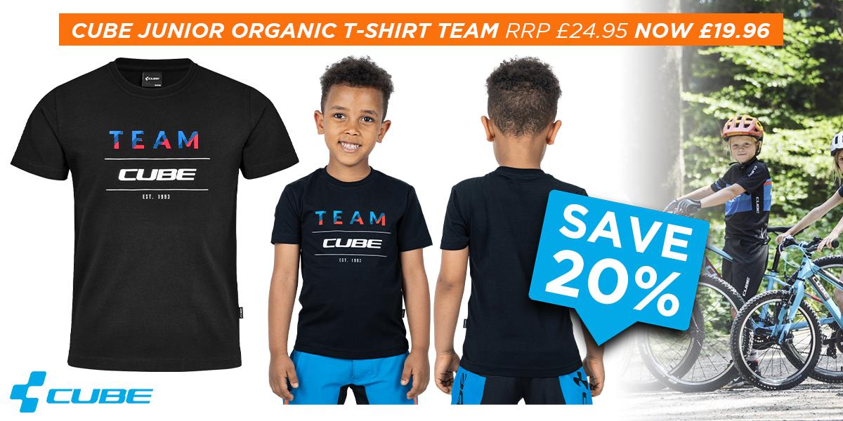 Cube Junior Organic T-Shirt Team