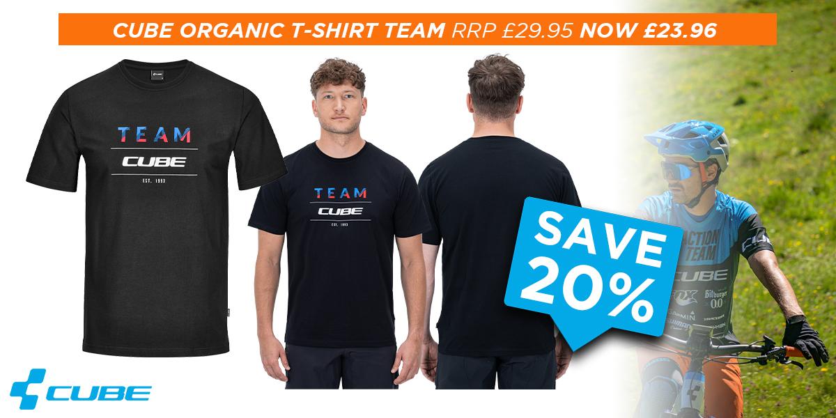Cube Organic T-Shirt Team