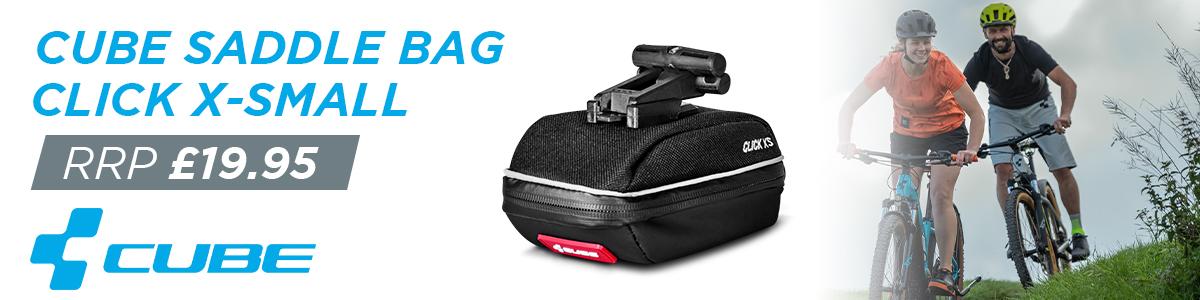 Cube Saddle Bag Click X-Small