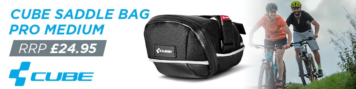 Cube Saddle Bag Pro Medium