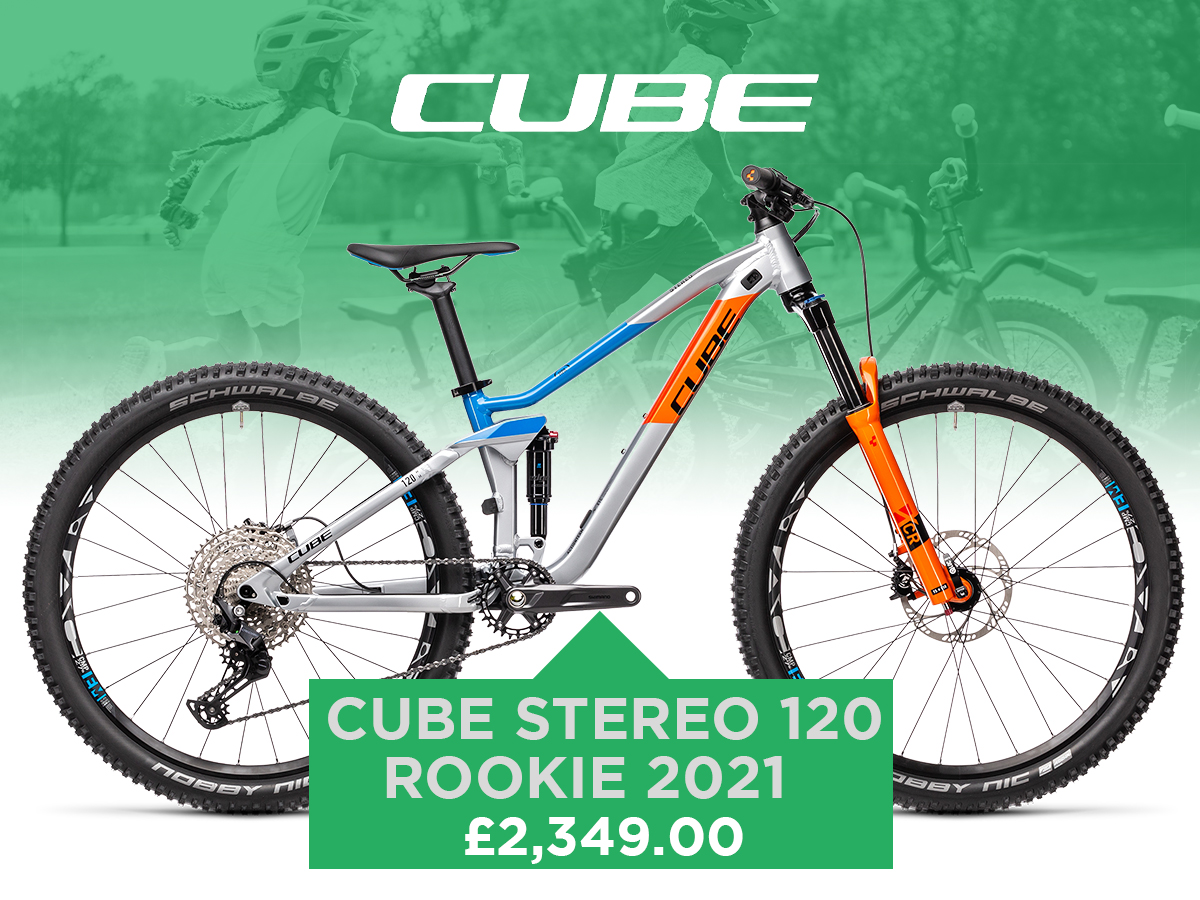 Cube Stereo 120 Rookie 2021
