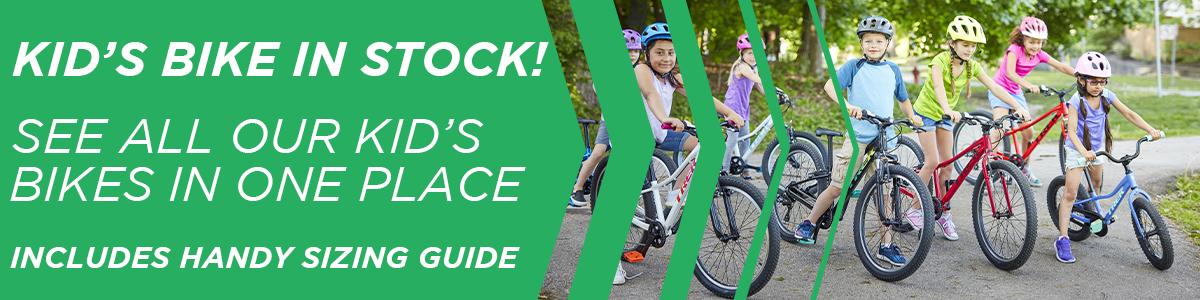 Kid's Bikes at Wheelbase