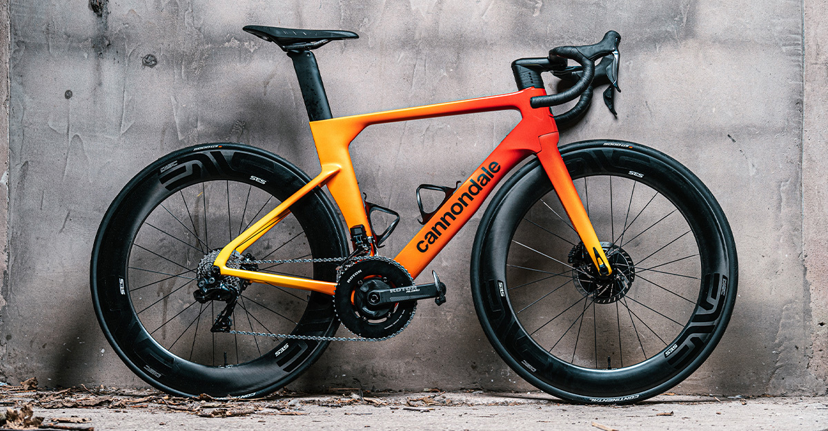 Cannondale SystemSix Custom Paint Job