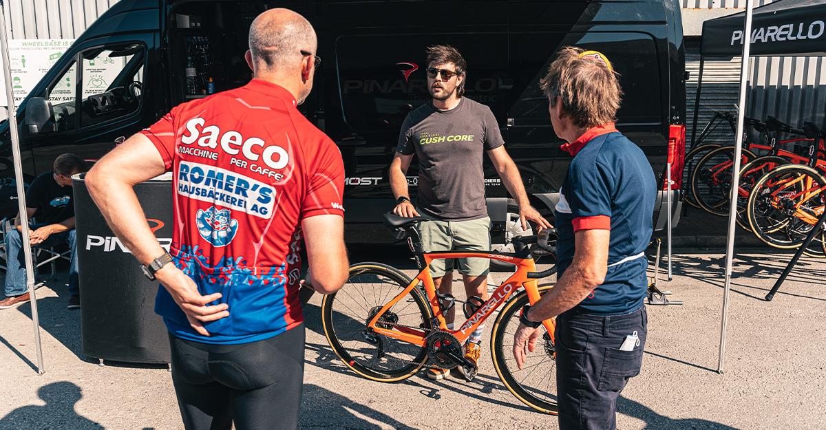 Pinarello Demo Day at Wheelbase