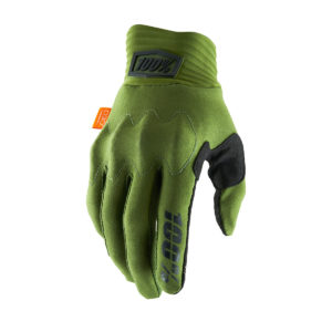 100% Cognito Glove Army Green/Black : X-Large