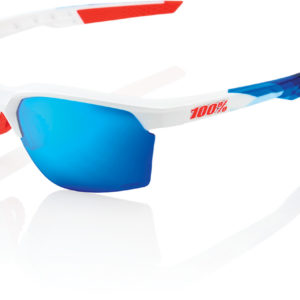 100% Sportcoupe Glasses : Polished White