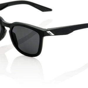 100% Hudson Glasses : Soft Tact Black