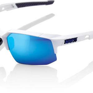 100% Speedcraft Glasses : Matt White