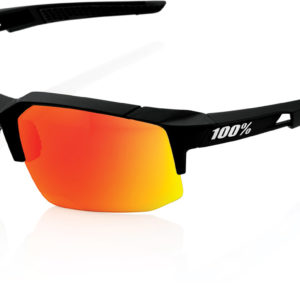 100% Speedcraft Glasses : Soft Tact Black