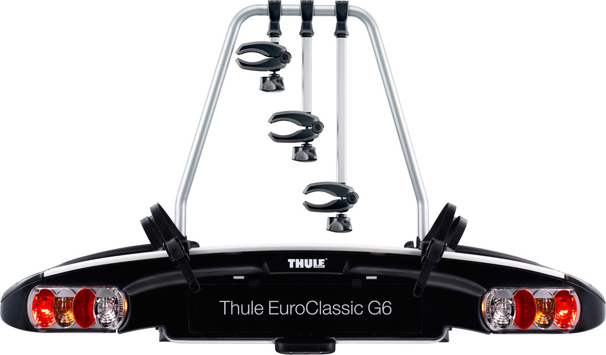 thule 929 euroclassic g6 3 bike towball carrier wheelbase. Black Bedroom Furniture Sets. Home Design Ideas