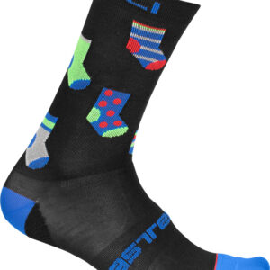 Castelli Pazzo 18 Sock : Black : Small/Medium