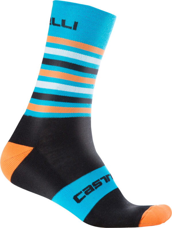 Castelli Gregge 15 Sock : Black/Red : Small/Medium