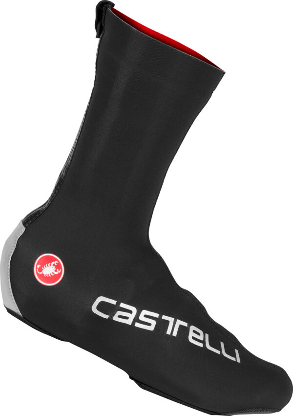 Castelli Diluvio Pro Shoecover : Black : Small/Medium