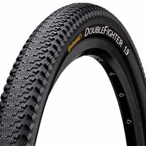 Continental Double Fighter Black Tyre