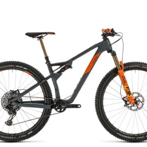 2020 Cube Ams 100 C:68 Tm : Grey/Orange : 18""