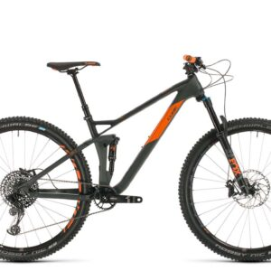 2020 Cube Stereo 120 HPC Tm 29 : Grey/Orange : 18""