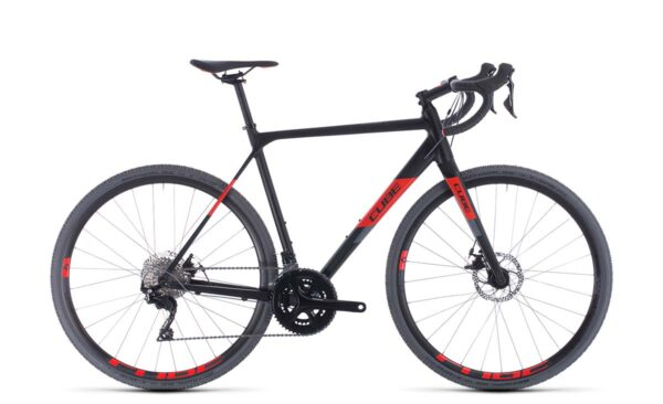 2020 Cube Cross Race : Black/Red : 61cm
