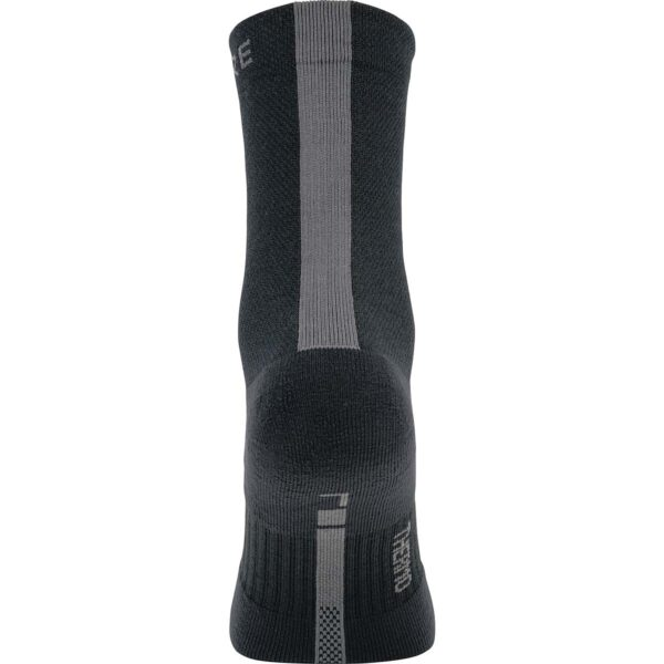 Gore Thermo Mid Socks : Black/Graphite Grey : 38-40
