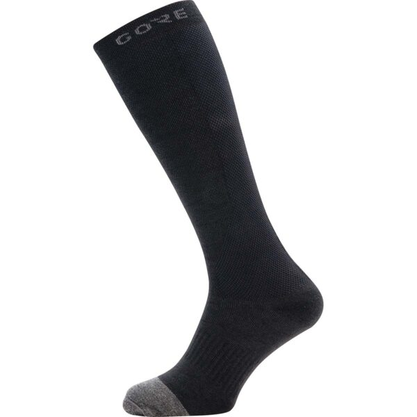 Gore Thermo Long Socks : Black/Graphite Grey : 38-40