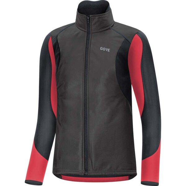 Gore C5 Womens Gore-Tex Infinium Soft Lined Thermo Jacket : Black/Hibiscus Pink : 36